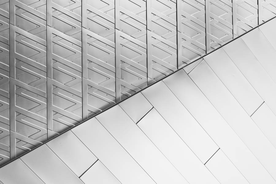 Abstract Silver Architectural Pattern free texture