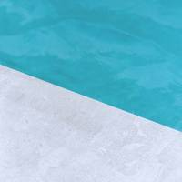 Concrete and Turquoise Water Surface