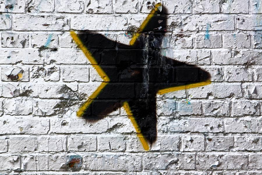 star graffiti grunge free texture