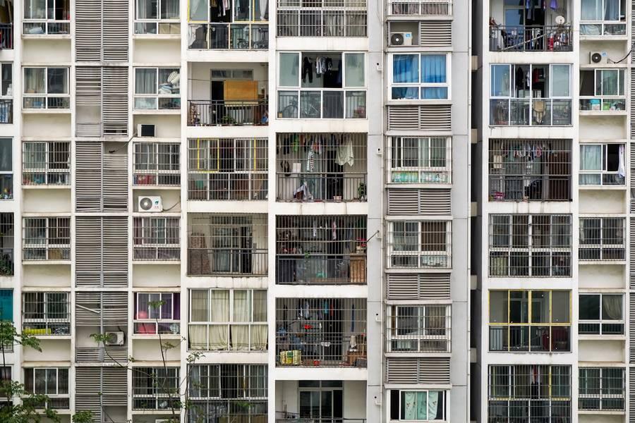 Slums Building Facade free texture