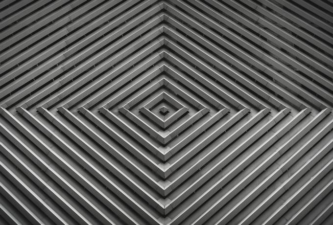 Abstract Gray Pattern, Architecture Element