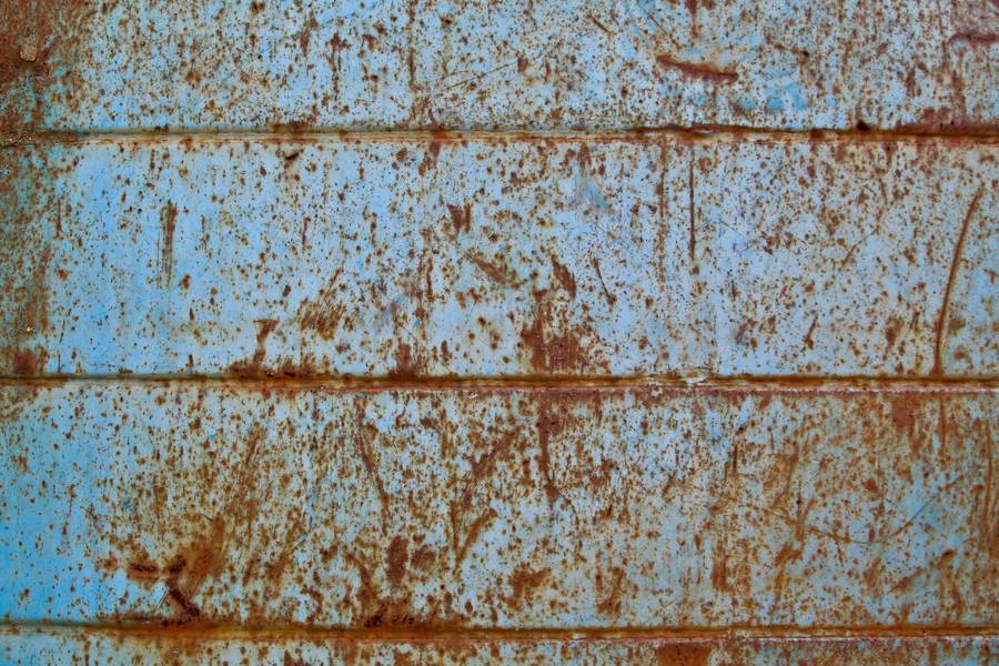 rusty blue metal free texture