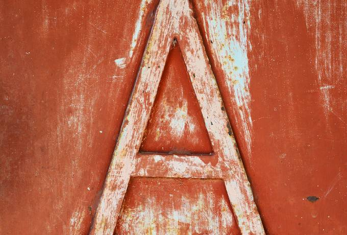 free Grunge Letter A texture