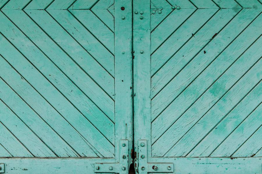 Aquamarine Wooden Door free texture