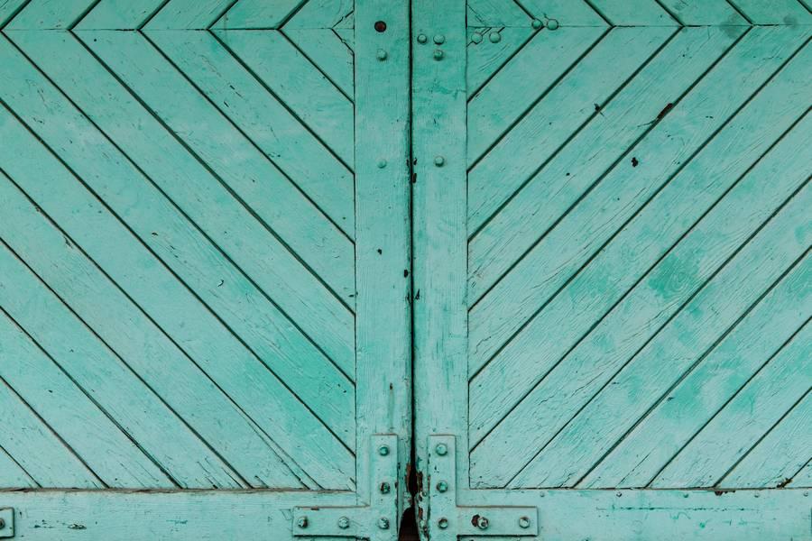 Aquamarine Wooden Door free texture