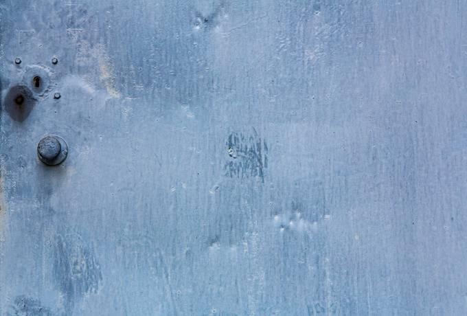 free Blue Metal Doors texture