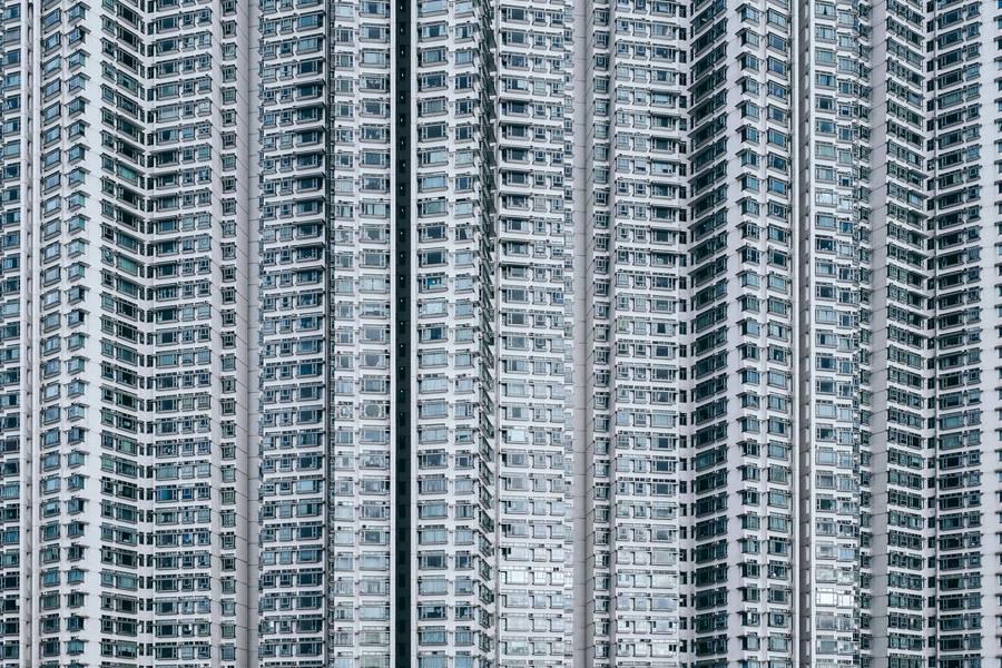 Building Facade, Tung Chung, Hong Kong free texture