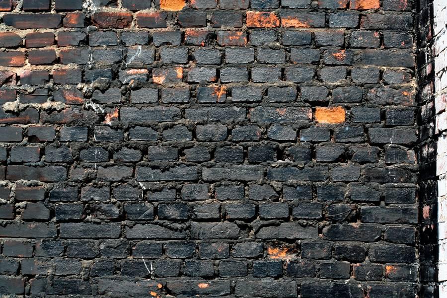 burnt brick dirty free texture