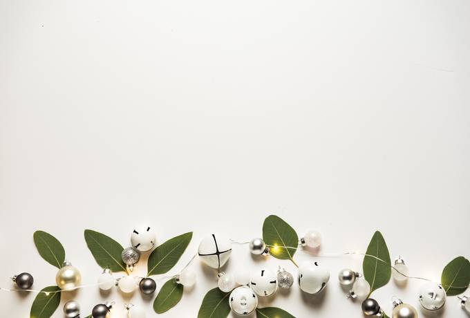 free Christmas Flat Lay texture