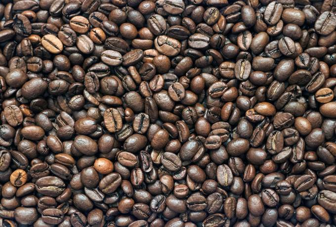 free Coffee Beans Closeup texture