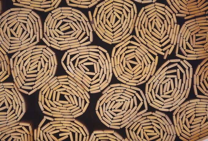 free Chinese Bamboo Slips texture