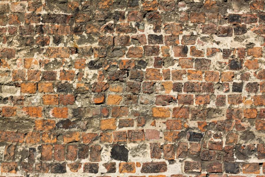 brick damaged wall free texture