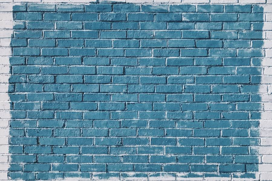 Blue Brick Wall free texture