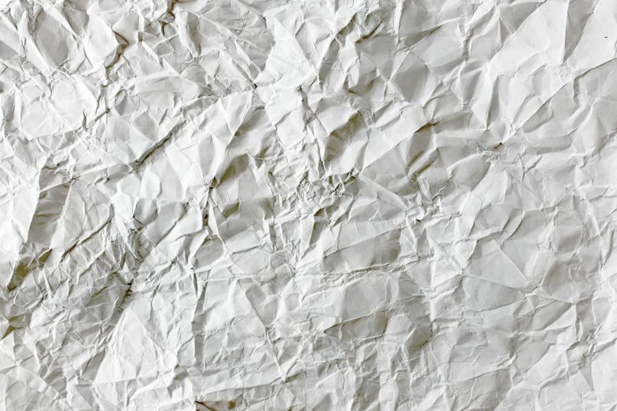 White Crumpled Paper free texture