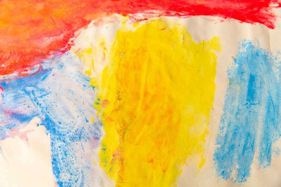 Childish Abstract Paint free texture