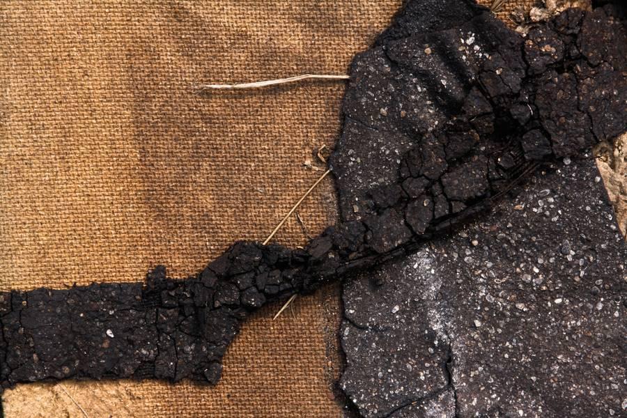 damaged asphalt crushed free texture