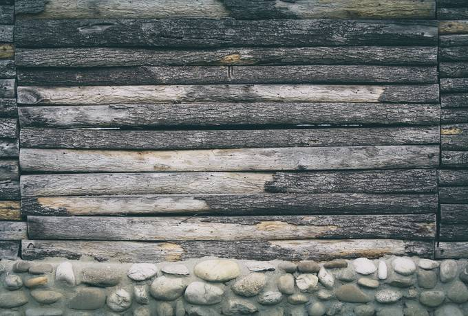 free Wood Logs and Rocks texture
