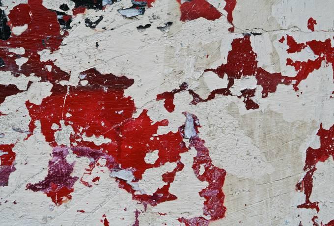 wall peeling plaster