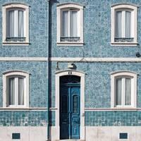 Old Blue Facade