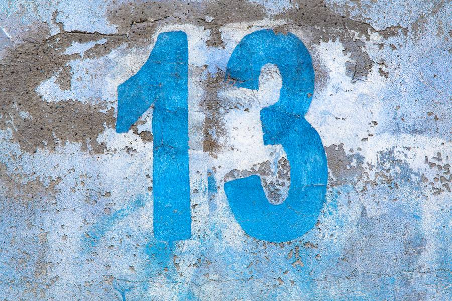 Blue Grunge Thirteen free texture