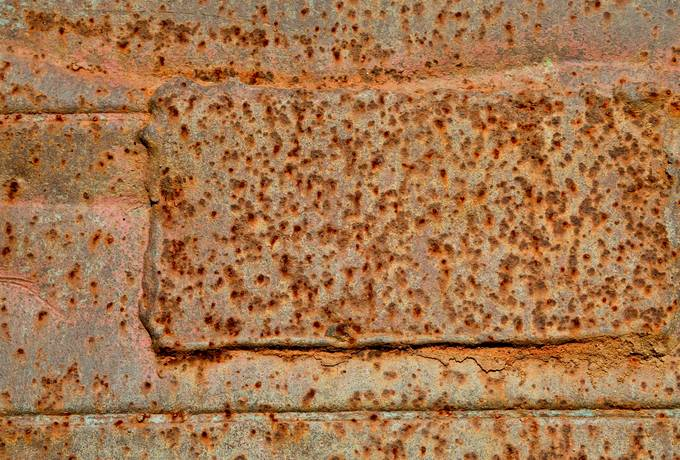 free russet metal old texture