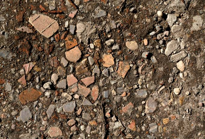 rubble debris stone