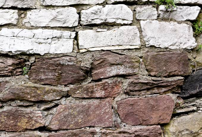 free stone wall rough texture