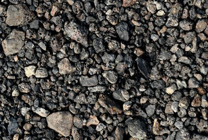 slag pebble stone