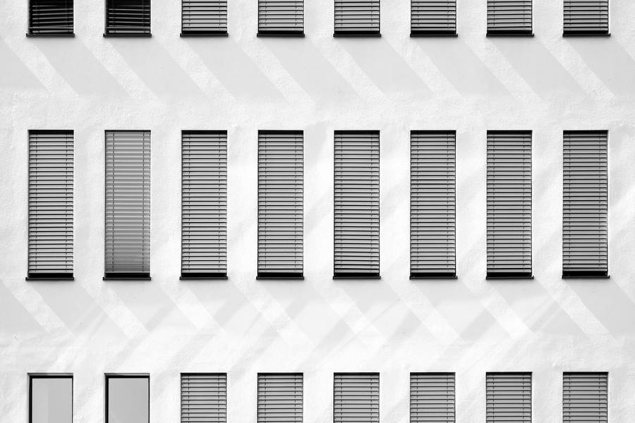 Grey Facade of a Building free texture
