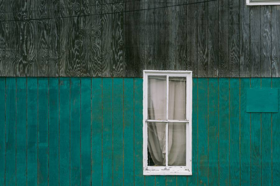 Wooden Facade with Windows free texture