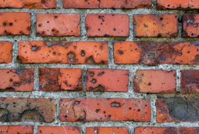 wall brick old