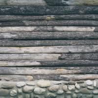 Wood Logs and Rocks