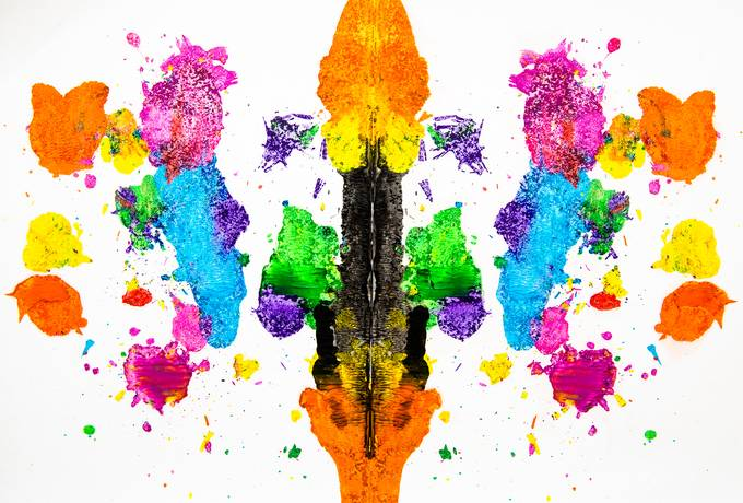 free Colorful Abstract Dragon texture