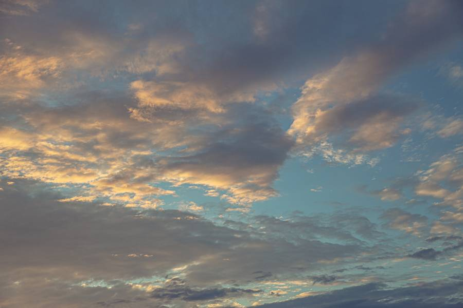 Golden Hour Sky free texture