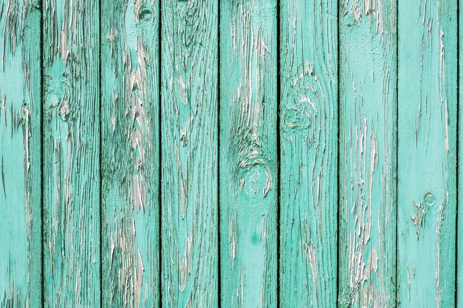 Old Wall from Turquoise Wooden Planks free texture
