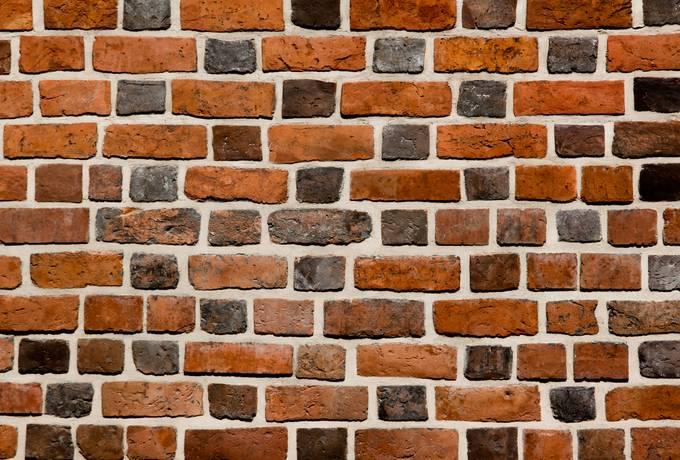 brick medieval old