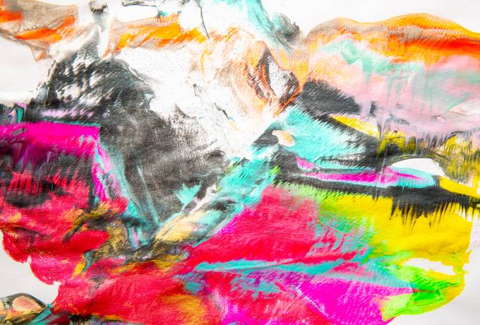 free Colorful Abstract Art texture