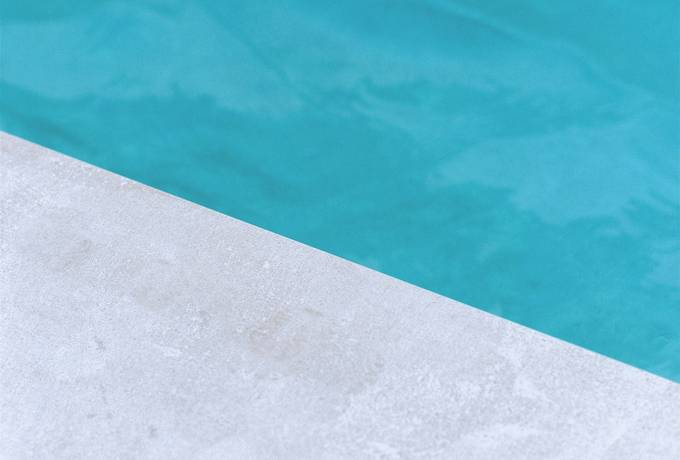 free Concrete and Turquoise Water Surface texture