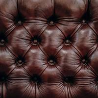 Black Quilted Leather