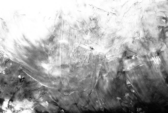 Black and White Painted Background