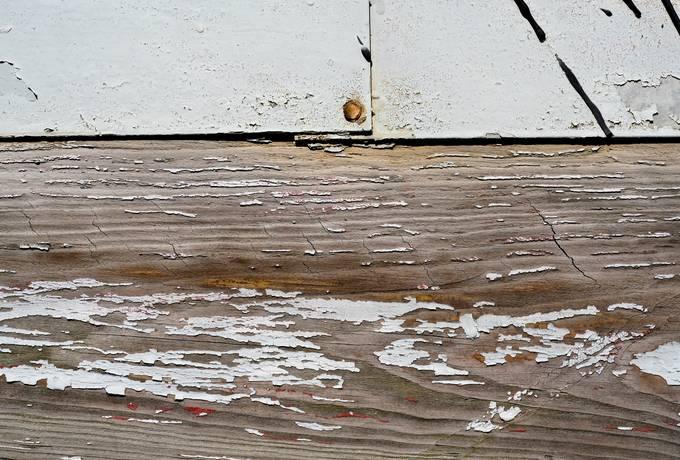 metal plank wood