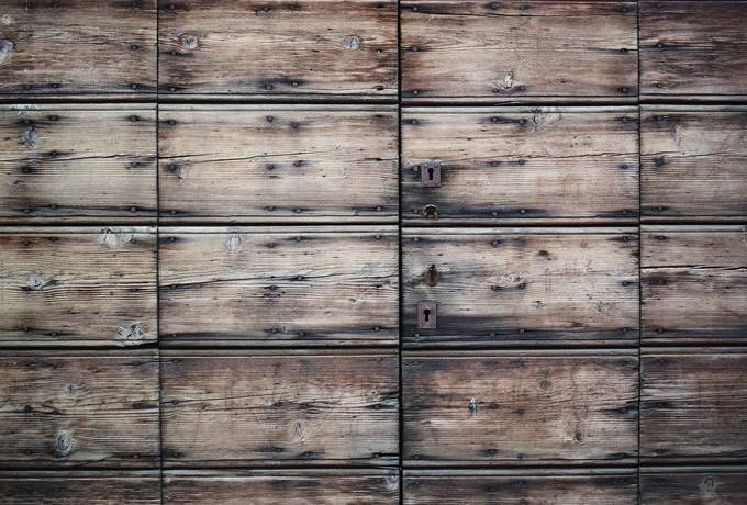 free Old, Faded Wooden Door texture