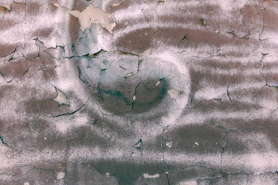 Closeup of Peeling Painted Wall free texture