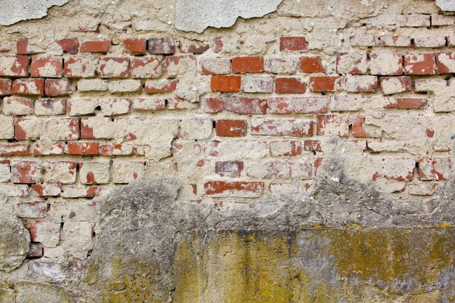 damaged plaster brick free texture
