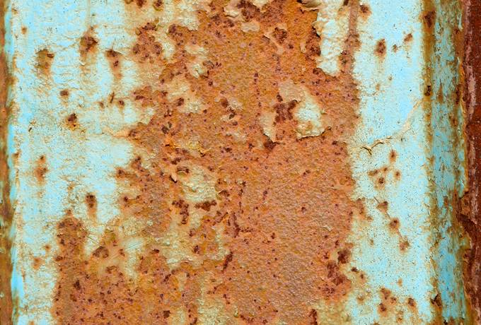 free blue metal rusty texture