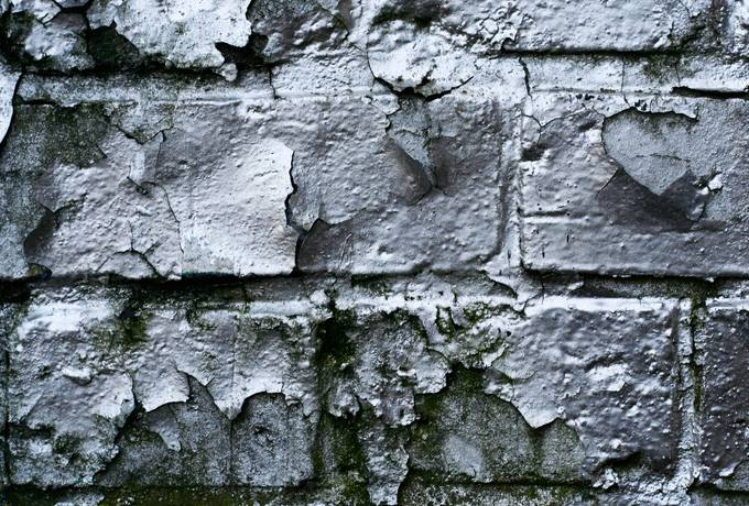free spray silver brick texture