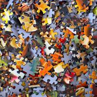 Randomly Scattered Puzzles