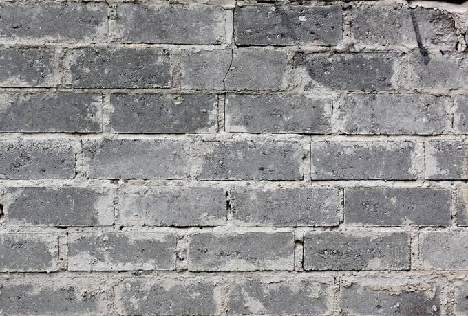 wall brick grout