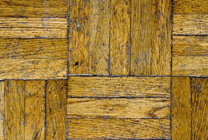 parquet floor old