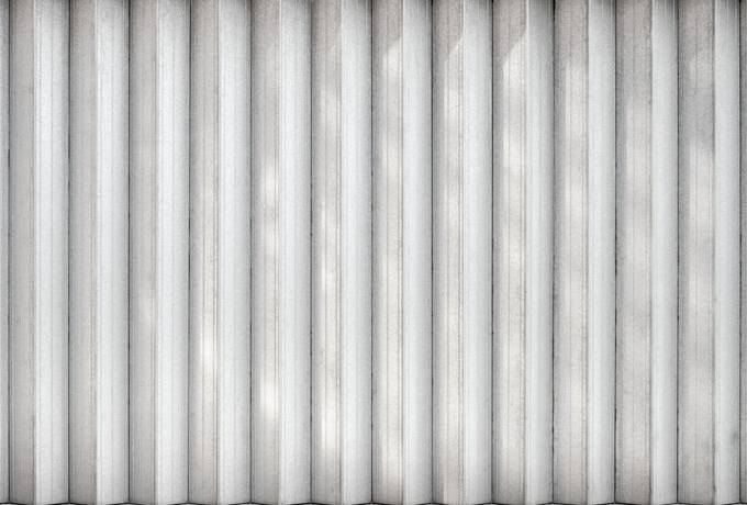 Corrugated Metal Wall